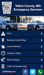 Talbot Co. Emergency Services- screenshot thumbnail