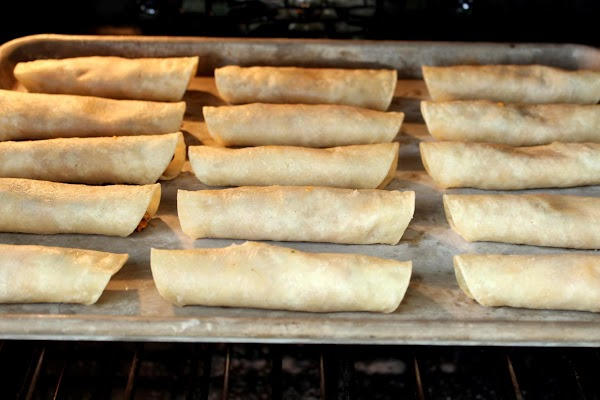 Bake on 375 for 10-12 minutes depending on how crispy you want them.