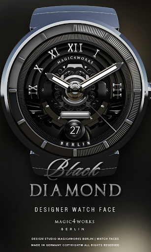 Black Diamond Watch Face