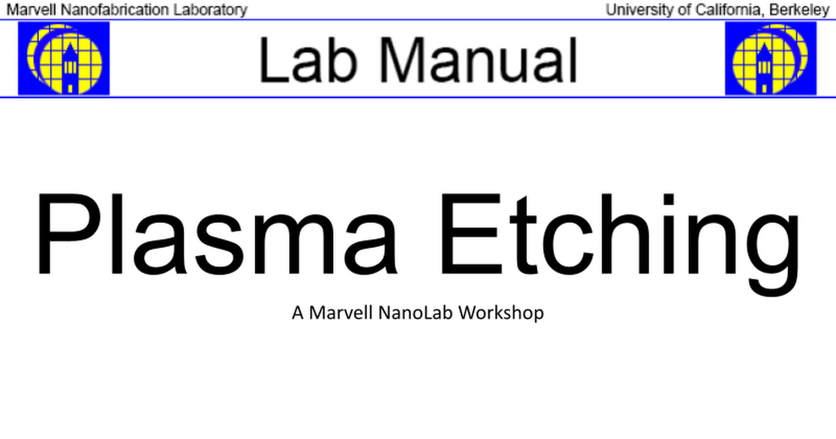 71 etchclass plasma etch training workshoppptx google slides