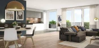 Appartement 2 pièces 61,59 m2