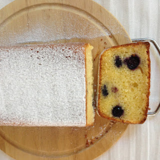 Donna Hay blueberry and lemon cake