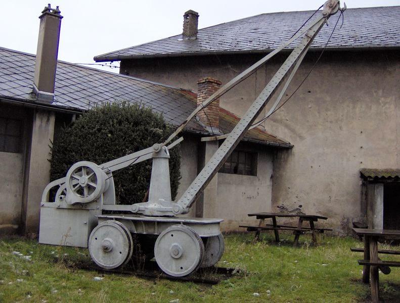 Le wagon grue du SGLM