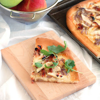 Ham and Apple pizza