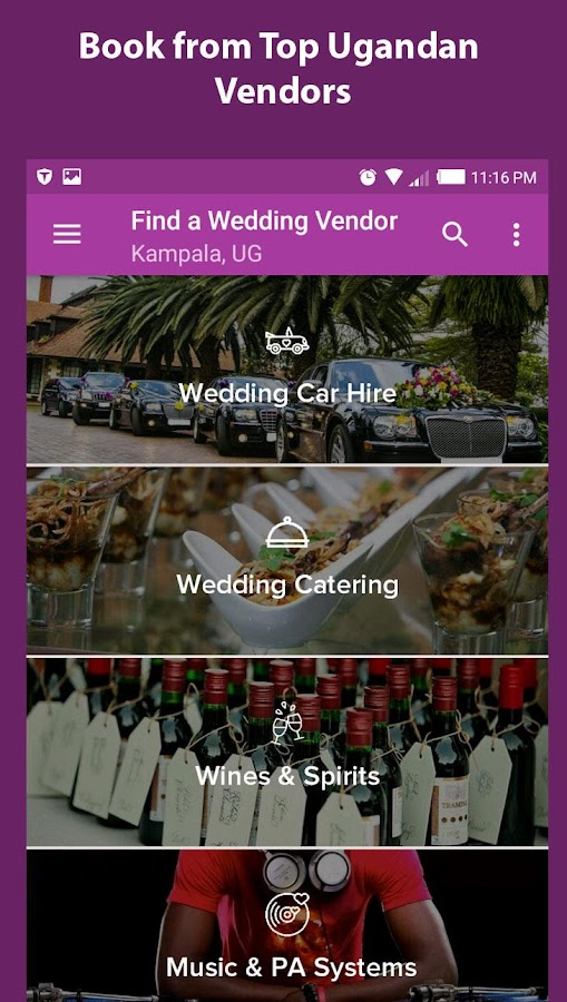 Mikolo - Uganda Weddings App- screenshot