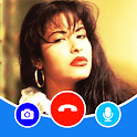 Selena Quintanilla Fake Video Call Chat Simulator icon