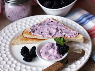 Blackberry Cream Cheese Spread Recipe