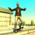 Street Lines: Skateboard icon