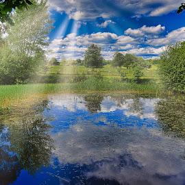 nature by Gjunior Photographer - Landscapes Cloud Formations ( cloud, forest, nature, waterscape, lake, landscape )