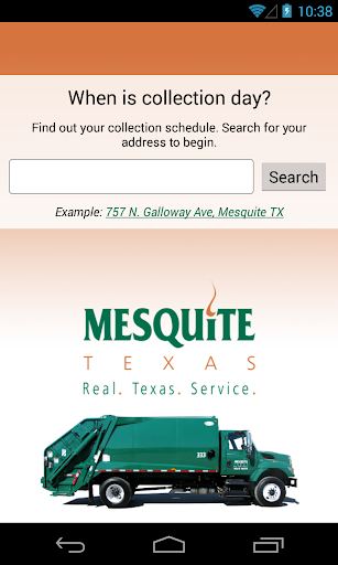 Mesquite Trash Recycling