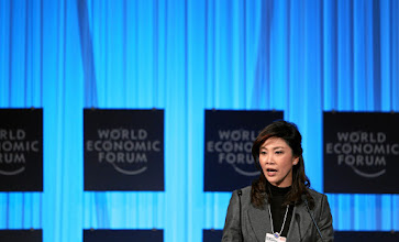Photo: DAVOS/SWITZERLAND, 27JAN12 - Yingluck Shinawatra, Prime Minister of Thailand is captured during the session 'Women as the Way Forward' at the Annual Meeting 2012 of the World Economic Forum at the congress centre in Davos, Switzerland, January 27, 2012.Copyright by World Economic Forumswiss-image.ch/Photo by Moritz Hager