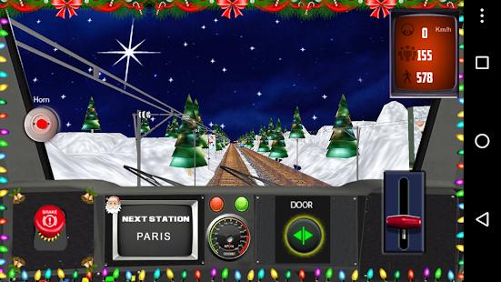 Christmas Train Simulator 2018 - náhled