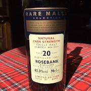 Rosebank 20yr 1981 Rare Malts Series 62.3%