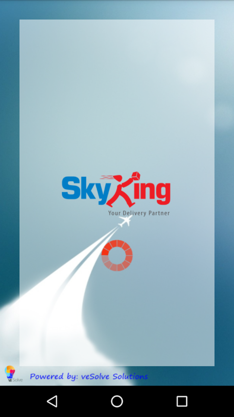 SkyKing Courier Service- screenshot