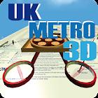 UK METRO 3D icon