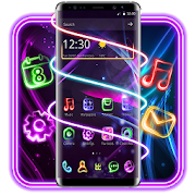 App Neon Light Launcher APK for Windows Phone
