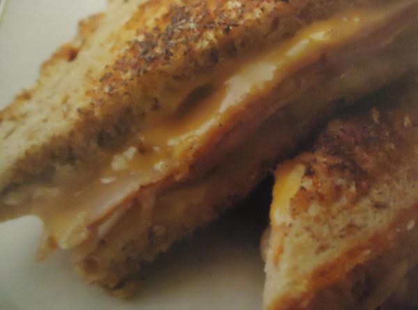 My Healthier Grilled Cheese & Ham Sandwich Recipe