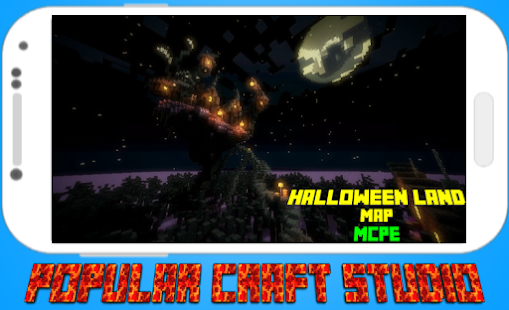 Halloween Land Map for MCPE - náhled