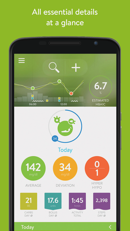 mySugr: Diabetes logbook app - screenshot