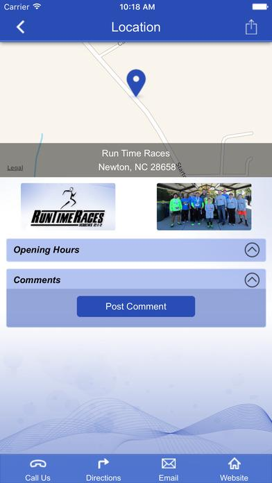 RunTimeRaces- screenshot
