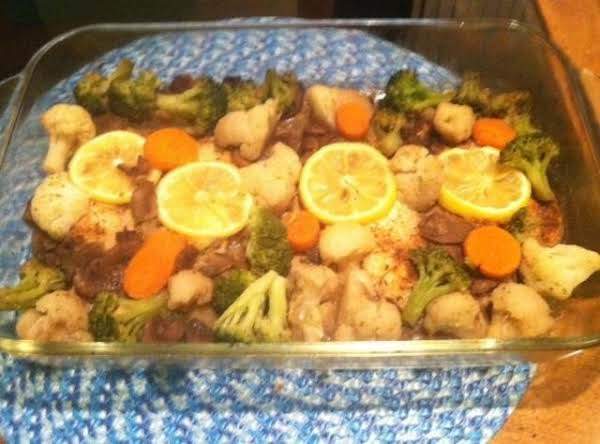 Baked Tilapia With Vegetables Recipe