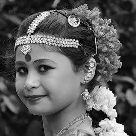 Panchi by SANGEETA MENA  - Black & White Portraits & People