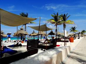 Photo: #024-La plage du Club Med Cancún Yucatán.