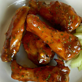 Grilled Cilantro Lime BBQ Party Wings