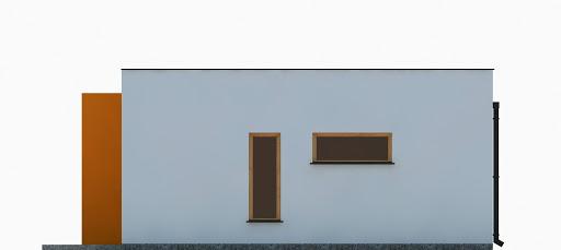 G355 - Budynek garażowo-gospodarczy - Elewacja prawa