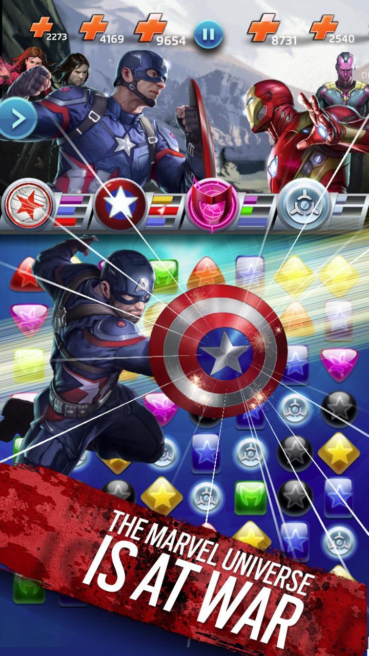 Marvel Puzzle Quest screenshot #2