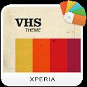 XPERIA™ VHS Theme icon