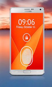 Fingerprint Lock Screen Prank 2