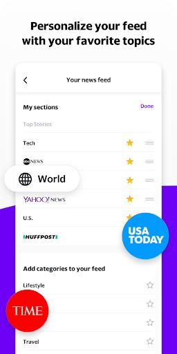 Yahoo News 10.1.3 screenshots 2
