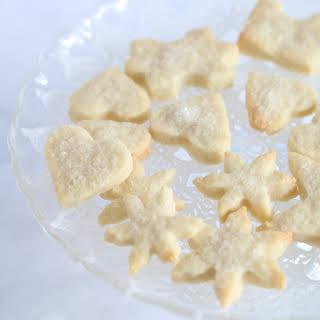 Sparkling Vegan Sugar Cookies.