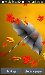 podzimu živé tapety - náhled