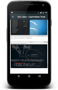 Kali Linux- screenshot thumbnail
