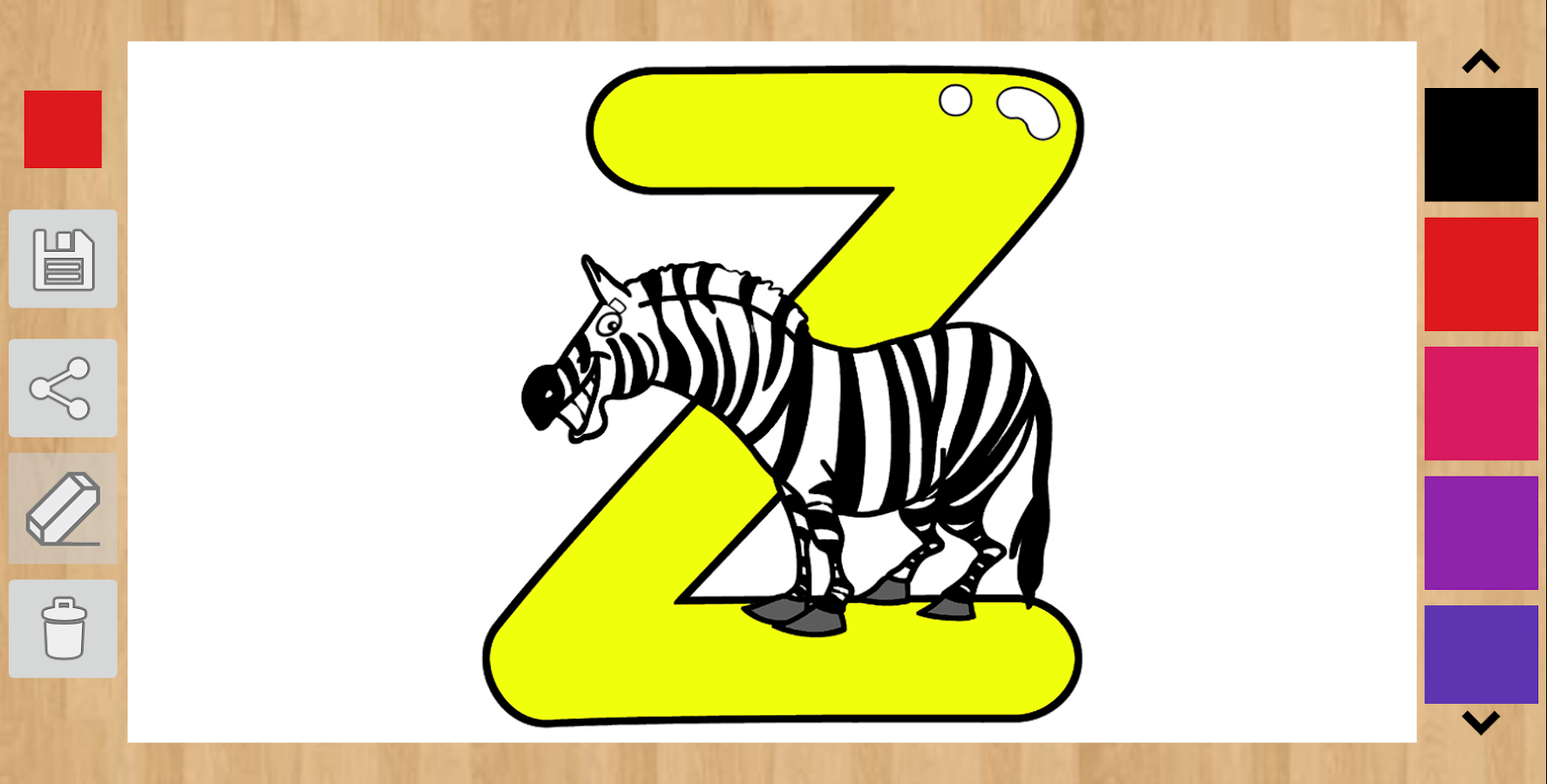 Coloring pages ws - Alphabet Coloring Pages Screenshot