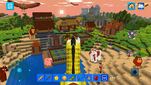 Terra Craft: Build Your Dream Block World modavailable screenshots 3