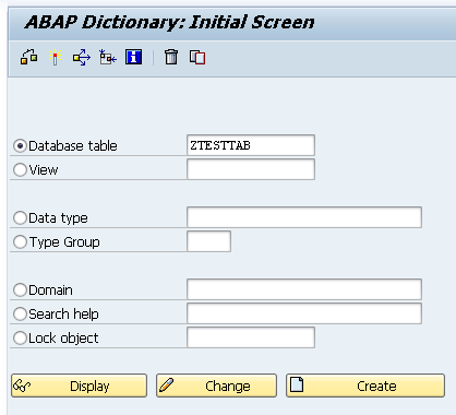 Let's code ABAP: Table Maintenance options and ABAP
