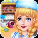 Supermarket Kids Manager Game - Fun Shopping Games icon
