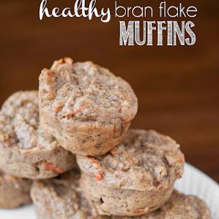 Healthy Bran Flake Muffins
