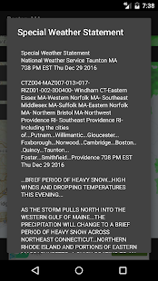 Radar Express - with NOAA Weather- screenshot thumbnail