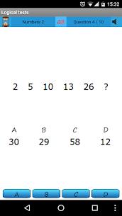 Logical test – IQ 10