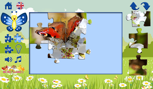 Puzzles for children: spring- screenshot thumbnail