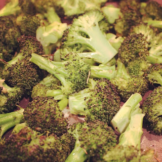 Roasted Broccoli with Rosemary.