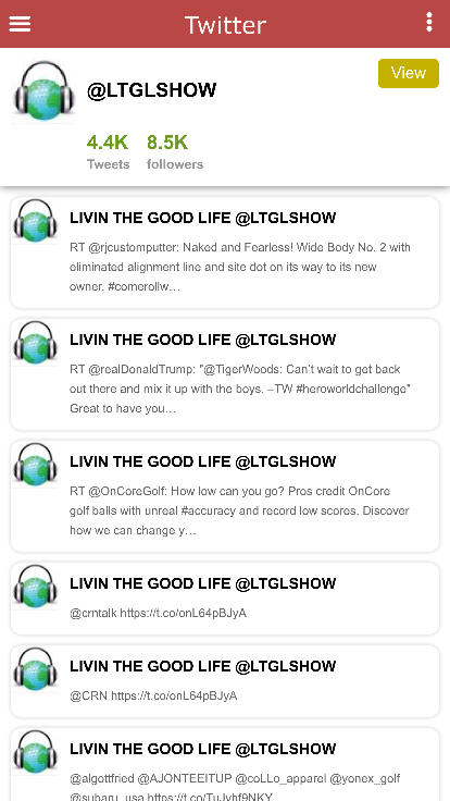 LIVIN THE GOOD LIFE SHOW- screenshot