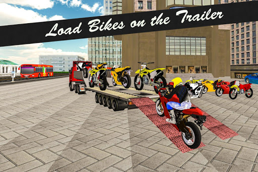 Bike Transport Truck 3D 15.3.4 de.gamequotes.net 4