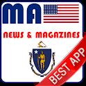 Massachusetts Newspapers : USA icon