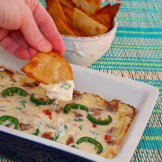 Sweet-Hot Jalapeno Popper Dip.