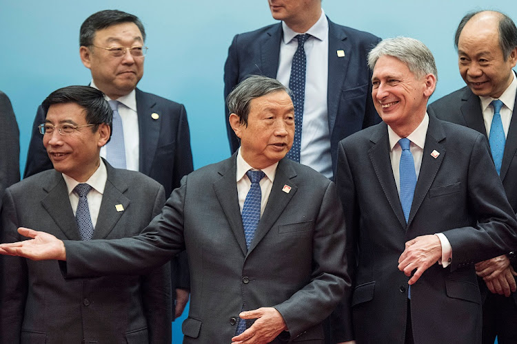 Chancellor of the Exchequer Philip Hammond and Chinese Vice-Premier Ma Kai attend the UK-China Economic Financial Dialogue in Beijing, China, December 16 2017. Picture: REUTERS
